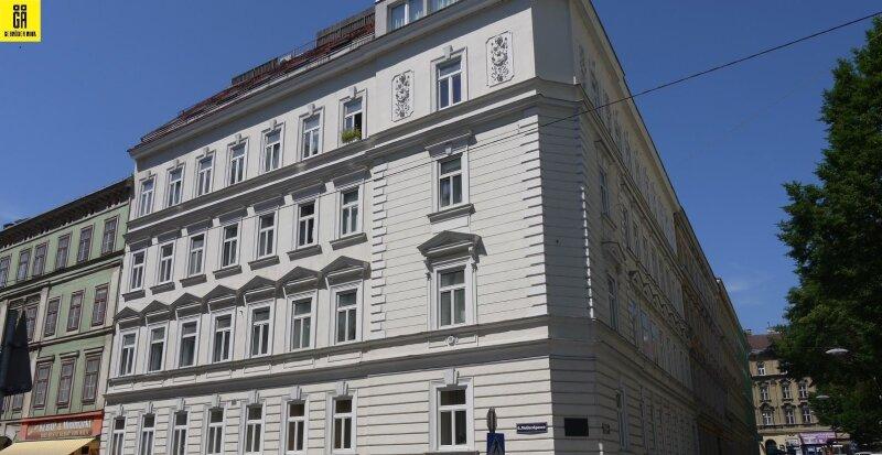 Provisionsfrei für den Käufer - 1 Zimmer Alt-Wiener Vorsorgewohnung - Nähe Linke Wienzeile - Hohes Wertsteigerungspotential