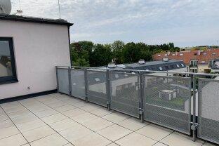 Dachterrassentraum - Grünruhelage - Wohnfläche  140 m² - Terrassen 30 m² - Fernblick Richtung Kahlenberg - Erstbezug