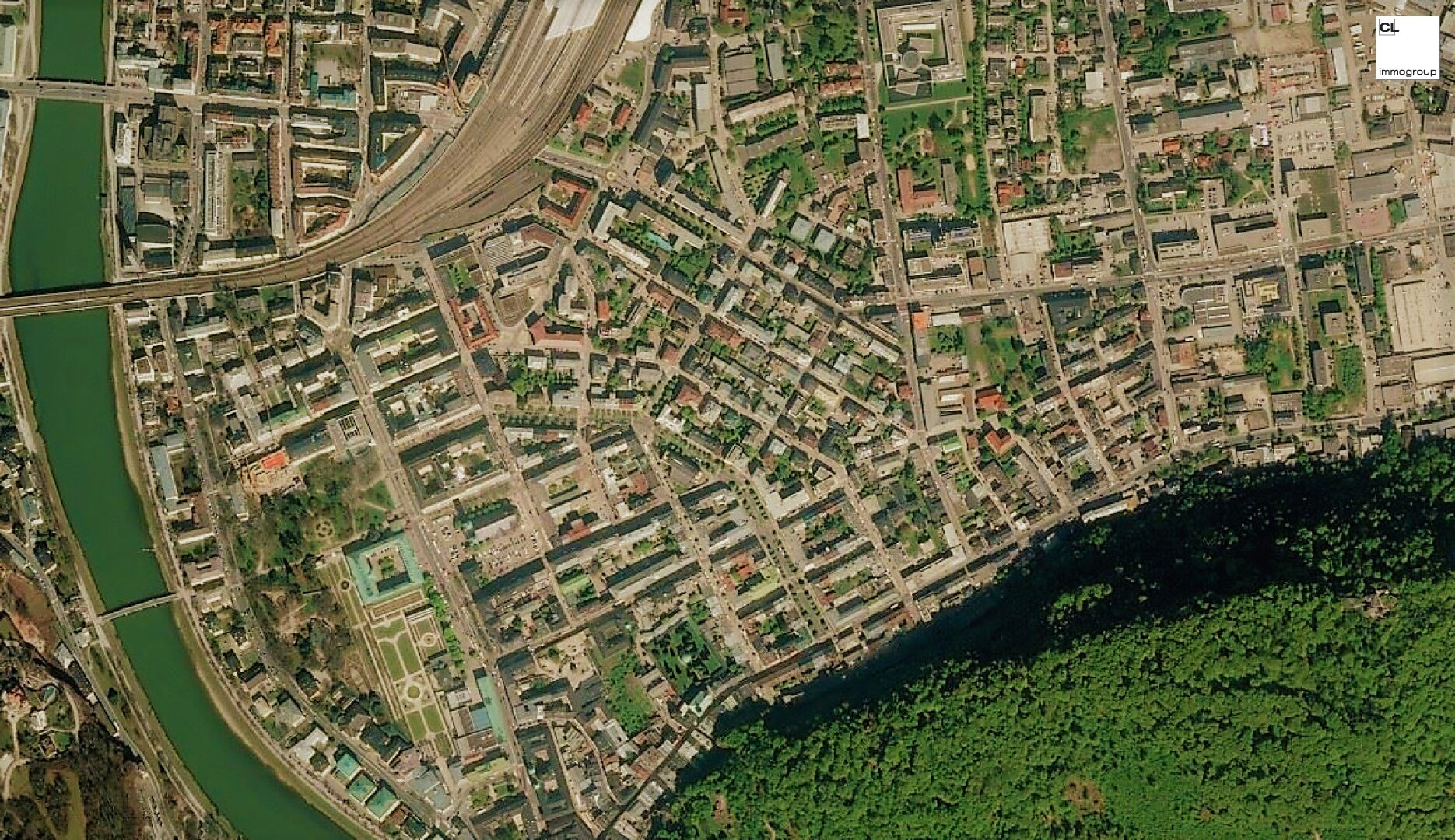 Luftbild Andräviertel