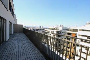 Luxuriöses 2 Zimmer Apartment mit riesiger Terrasse, großem Garagenplatz, Fitnesscenter mit Sauna und vielen weiteren Extras!