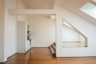 2-Zimmer-Dachgeschoßwohnung mit Terrasse nahe Palais Liechtenstein