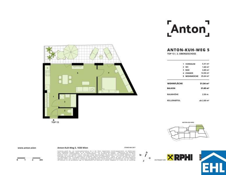 ANTON - Neues Wohnen in Neu Marx - PROVISIONSFREI /  / 1030Wien / Bild 8