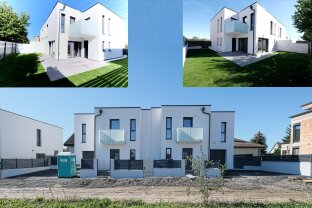 RESERVIERT! NEUBAU-DHH mit Garage - 170 m² - 5 Zimmer, zwei Balkone, 10 km v. Kreisverkehr Favoriten