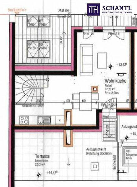Toller Blick + Lebensqualität pur! Ab ins Dachgeschoss mit 2 Terrassen und perfekter Raumaufteilung! Jetzt zugreifen! /  / 1210Wien / Bild 4