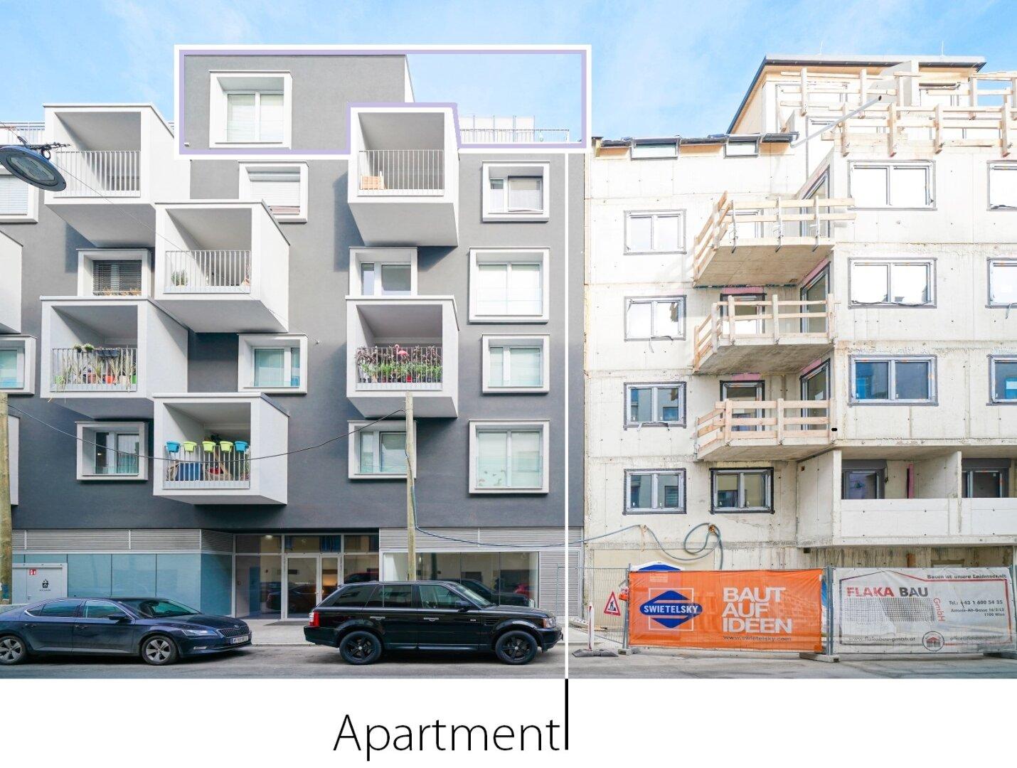 NEU Lage der Wohnung