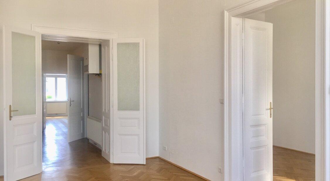 4-Zimmer Altbauwohnung in Wien Neubau! UNBEFRISTET