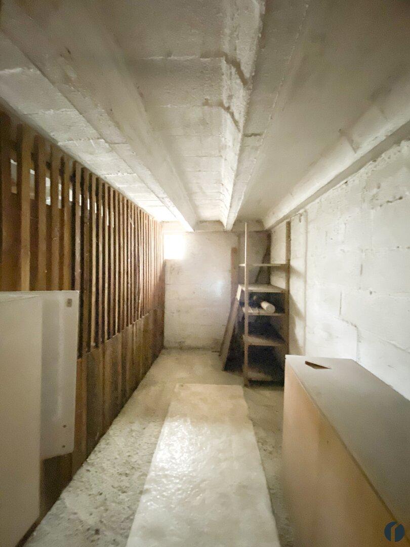 großes Kellerabteil