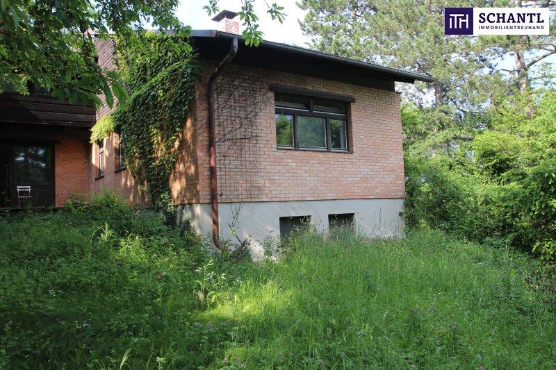 Naturidylle ! Südseitiges Traumgrundstück mit ausbaubarem Haus in Hinterbrühl!
