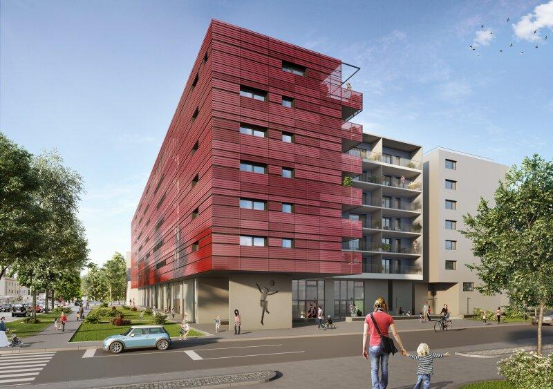 ERSTBEZUG & UNBEFRISTET: Großzügige 2-Zimmer-Wohnung im 5. Stock mit Innenhof-Loggia und Gemeinschafts-POOL am Dach - PROVISIONSFREI /  / 1230Wien / Bild 7
