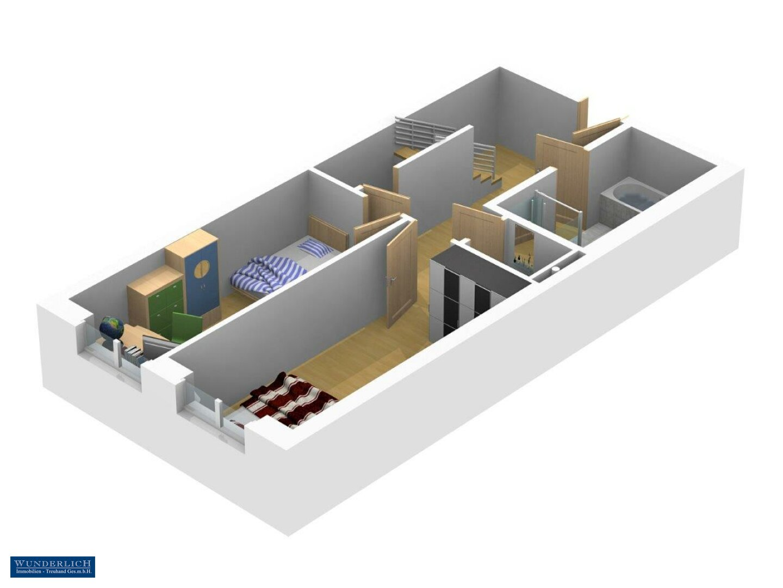 3D-Ansicht 2 Eingangsebene