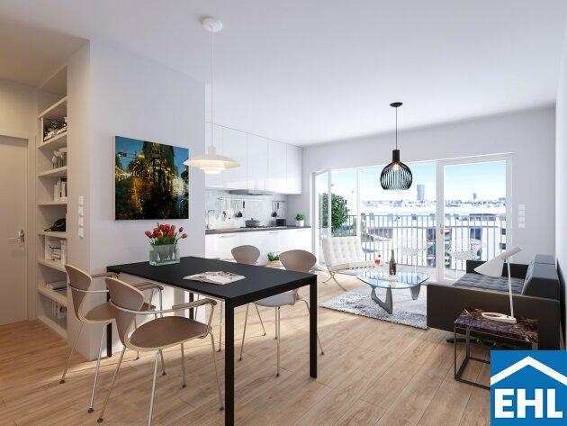 Moderne Dachgeschoss Vorsorgewohnung in Augarten Nähe