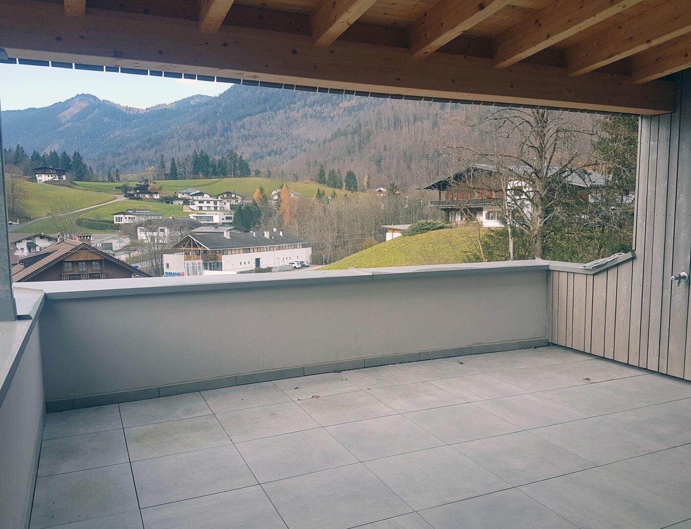 Terrasse, Wohnung Dachgeschoss Thiersee