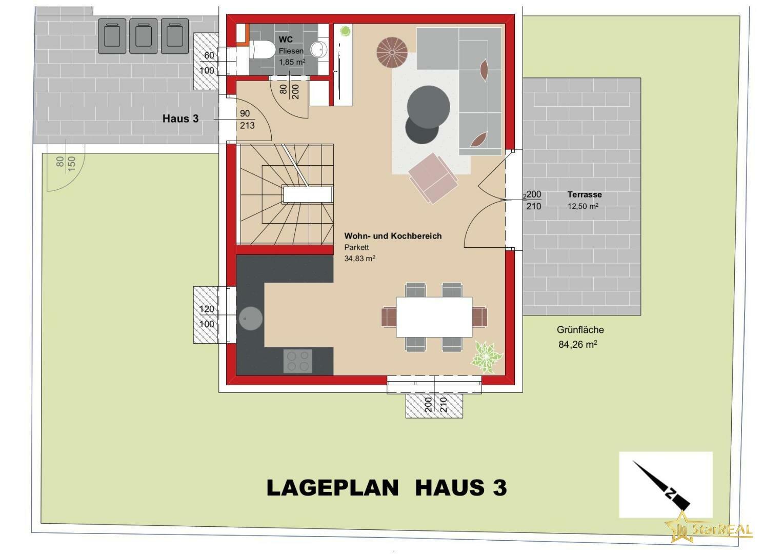 LAGEPLAN Einzelhaus