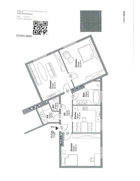 Moderne 3-Zimmer Wohnung Nähe Bahnhof Meidling /  / 1120Wien / Bild 5