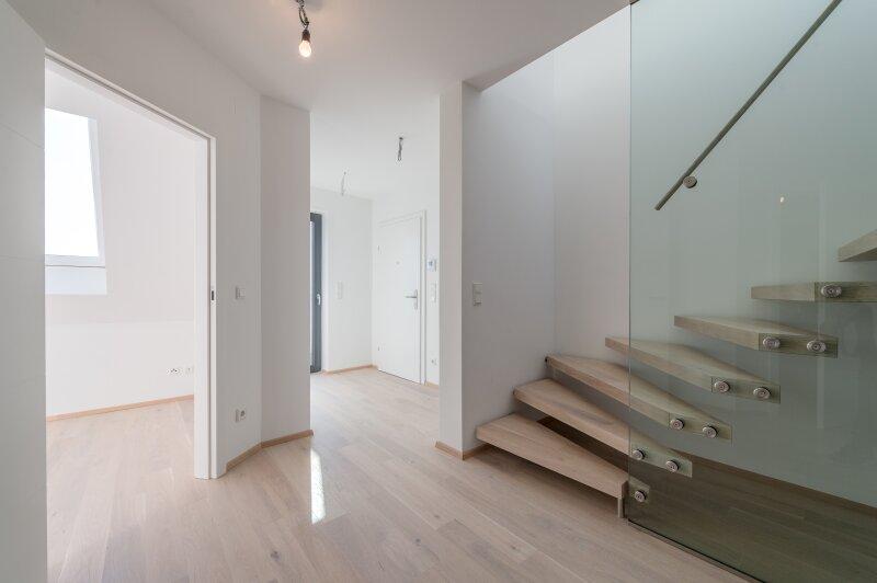 ++PROVISIONSRABATT** Hochwertige 4-Zimmer DG-Maisonette, tolle Aufteilung! 2 Terrassen!! Weitblick ***Videobesichtigung*** /  / 1210Wien / Bild 4