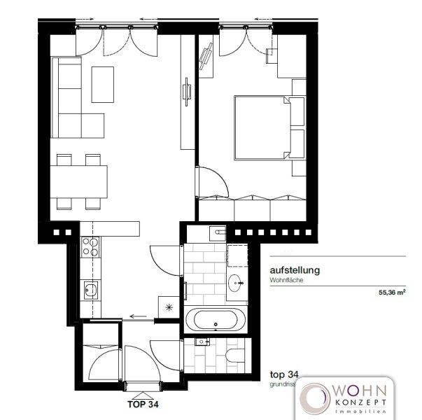 Moderne Dachwohnung in 1050 Wien /  / 1050Wien / Bild 8