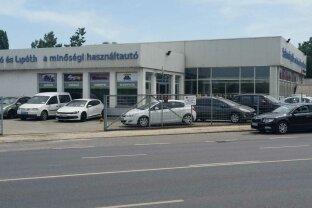 Für Autohändler  einzigartige Möglichkeit! Gebrauchtwagen Salon in Ungarn nähe Budapest!
