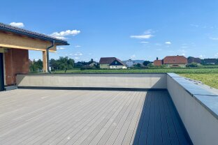 Modernes Penthaus mit sonniger Dachterrasse - BELAGSFERTIG