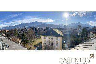 !!! Einzigartiges Angebot in der Innsbrucker Innenstadt: Wohntraum mit über 136 qm & WUNDERSCHÖNER DACHTERRASSE !!!!