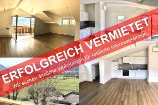 TOPLAGE IN TELFS: Neue 3-Zimmer-Wohnung mit toller Aussicht zu vermieten