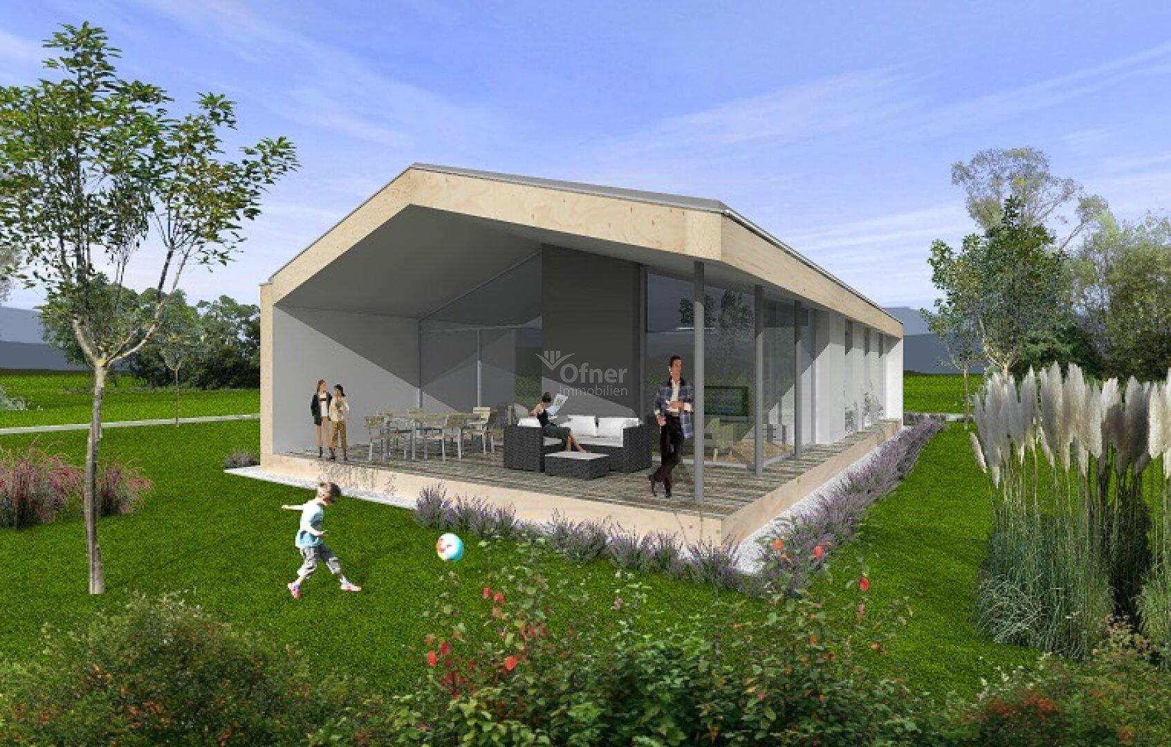 Sattel- oder Flachdach