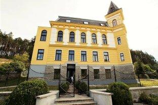"""Wohnen wie im Schloss: """"Schloss Harruck"""" – modernisiertes, repräsentativ-historisches Herrenhaus mit großem Grund"""