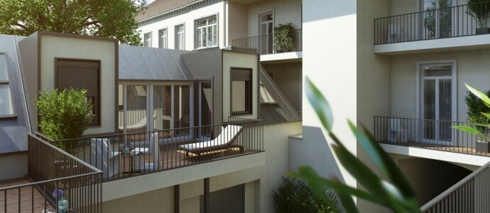 Provisionsfreier Verkauf - schöne 2 Zimmer Loggia-Wohnung