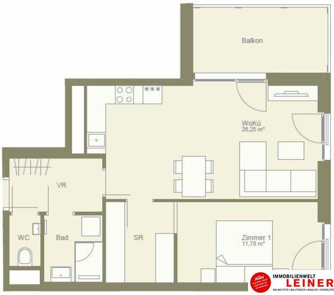 Erstbezug!! ruhige 2 Zimmerwohnung in zentraler Lage Objekt_9773 Bild_229