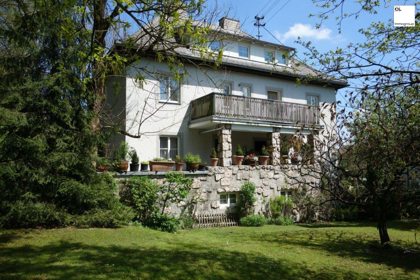 Prachtvolle Villa mit großem uneinsehbaren Garten zu kaufen CL-Immogroup www.cl-immogroup.at