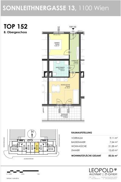 Unbefristete 2-Zimmer Dachterrassenwohnung /  / 1100Wien / Bild 7