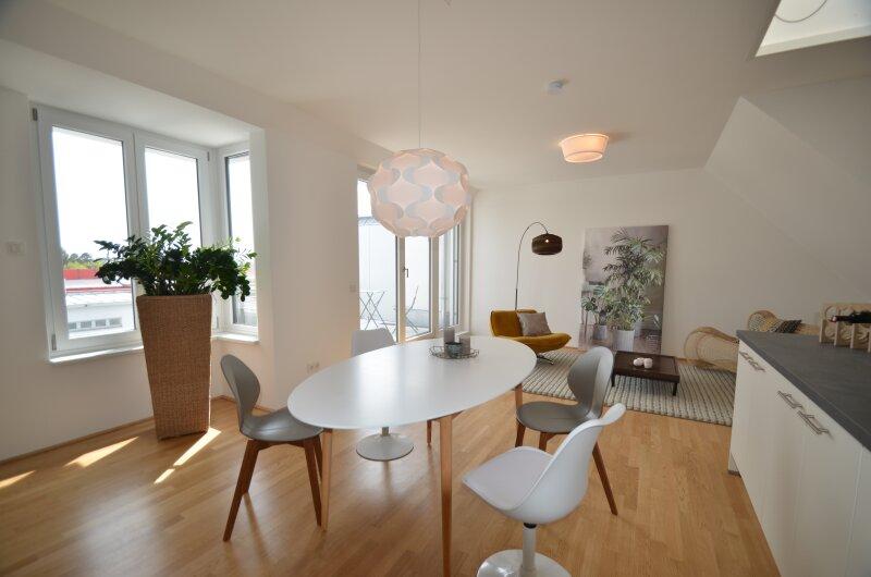 Top Dachgeschoßwohnung mit sonniger Terrasse  - ERSTBEZUG