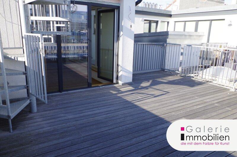Zentral begehbare DG-Maisonette mit Terrassen auf beiden Ebenen - Weitblick Objekt_31826 Bild_147