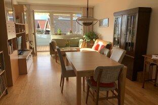 Großzügige 3 Zimmerwohnung mit Westbalkon und Bergsicht