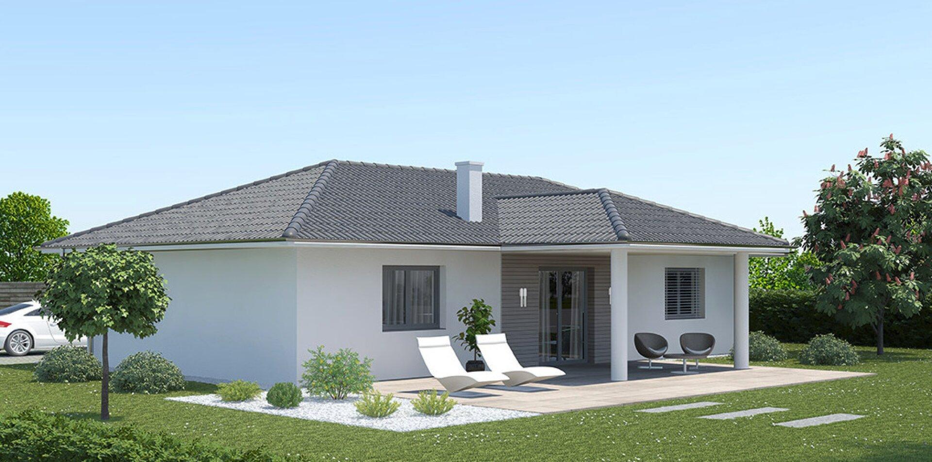 Wohnfläche 80 m²