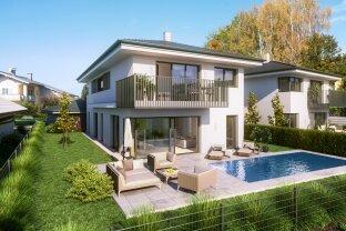DIREKT VOM BAUTRÄGER! - Einfamilienhaus mit Swimming Pool und traumhaften Blick in Salzburg Süd