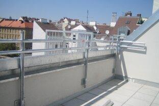 Top 40, 3 Zimmer-Dachgeschosswohnung mit Terrasse