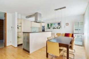 Moderne Gartenwohnung mit FengShui Konzept - exklusive Ausstattung - Design direkt am Schafberg