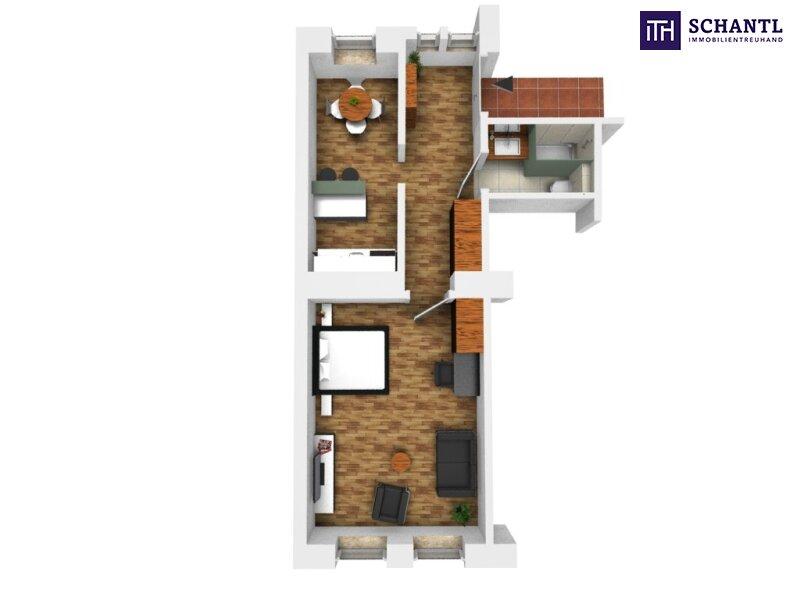 KURZZEITVERMIETUNG!!! Fünf voll möblierte Wohnungen im Paket + Sanierter Altbau + Absolute top Lage! /  / 1140Wien / Bild 12