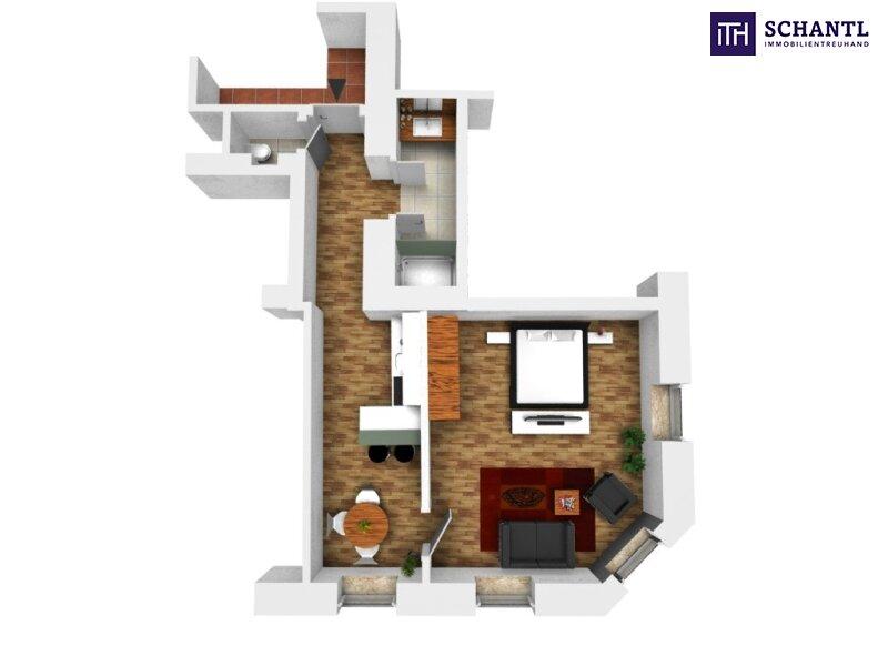 KURZZEITVERMIETUNG!!! Fünf voll möblierte Wohnungen im Paket + Sanierter Altbau + Absolute top Lage! /  / 1140Wien / Bild 11