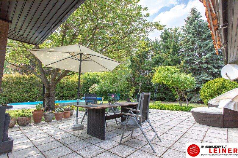 Ihr Haus * BUNGALOW* in Schwadorf mit 1077 m² Grund und Pool - verbringen Sie den nächsten Sommer im eigenen Garten Objekt_8819 Bild_643