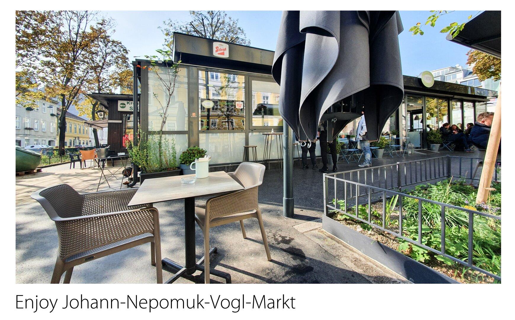 Enjoy Johann-Nepomuk-Vogl-Markt