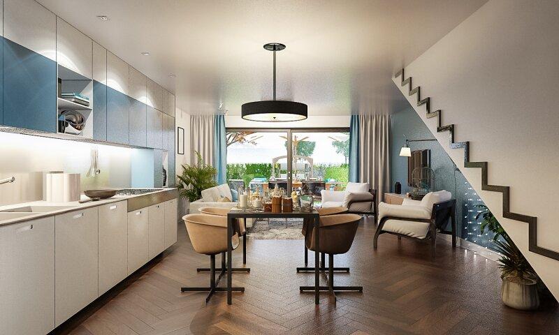 Erstbezug: herrliches, lichtverwöhntes Doppelhaus auf 3 Ebenen - 2 Min. nach Wien /  / 2301Groß-Enzersdorf / Bild 1