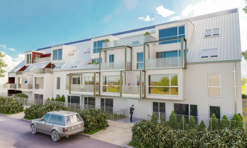 Direkt vom Bauträger! 2-Zimmer Balkonwohnung in zentraler Lage bei U1 Kagran