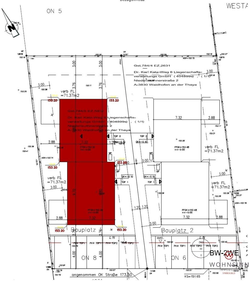 Lageplan Häuser
