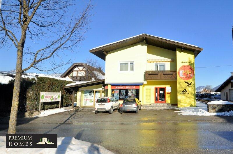 Beispielbild für KUNDL - attraktive Verkaufsräume 77,00 m² und Mietwohnung 100,90 m² - Büro 16,30 m², flexibel und vielseitig, alles unter einem Dach