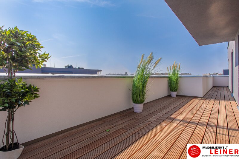 100 m² PENTHOUSE *UNBEFRISTET*Schwechat - 3 Zimmer Penthouse im Erstbezug mit 54 m² großer südseitiger Terrasse Objekt_9215 Bild_608