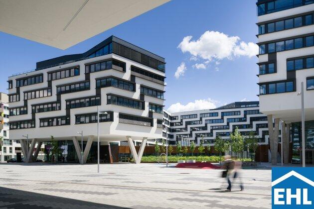 Büroflächen im AUSTRIA CAMPUS