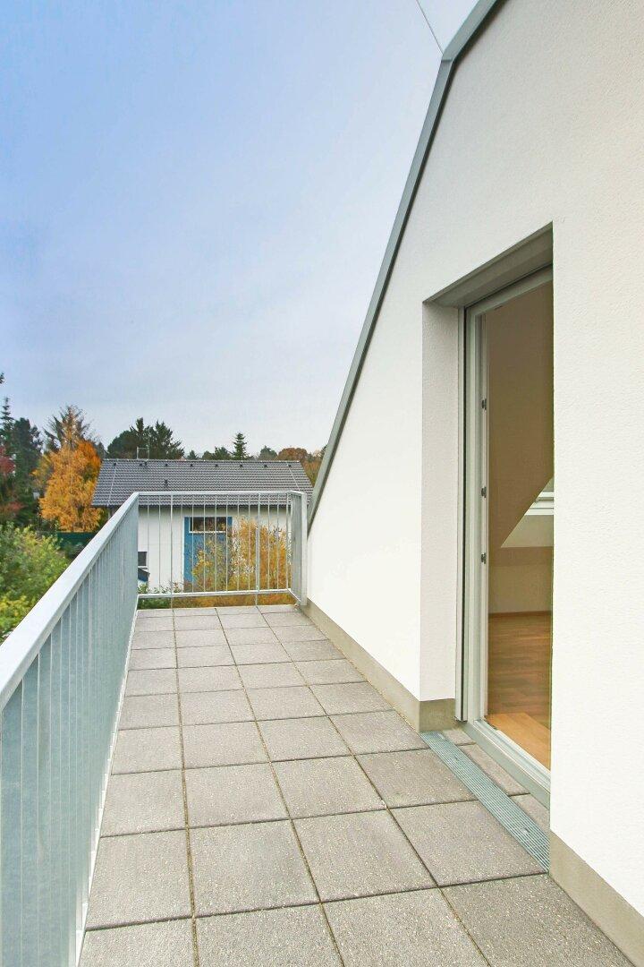 Balkon / Ostseitig