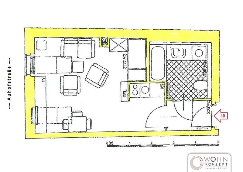 Erstbezug: 31m² Altbau mit Einbauküche und Lift - 1130 Wien /  / 1130Wien / Bild 5