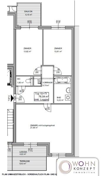 Neubau: 3 Zimmerwohnung mit Balkon /  / 1160Wien / Bild 3